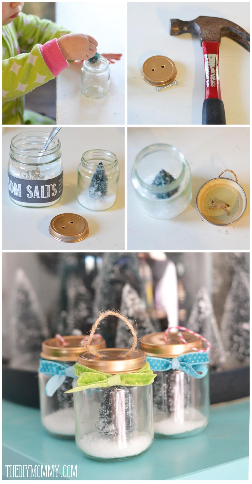 Decorated Baby Food Jars