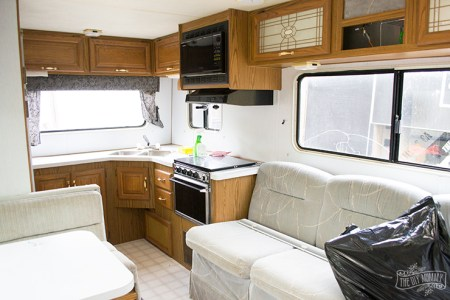The Interior Wallpapers Painting An Rv