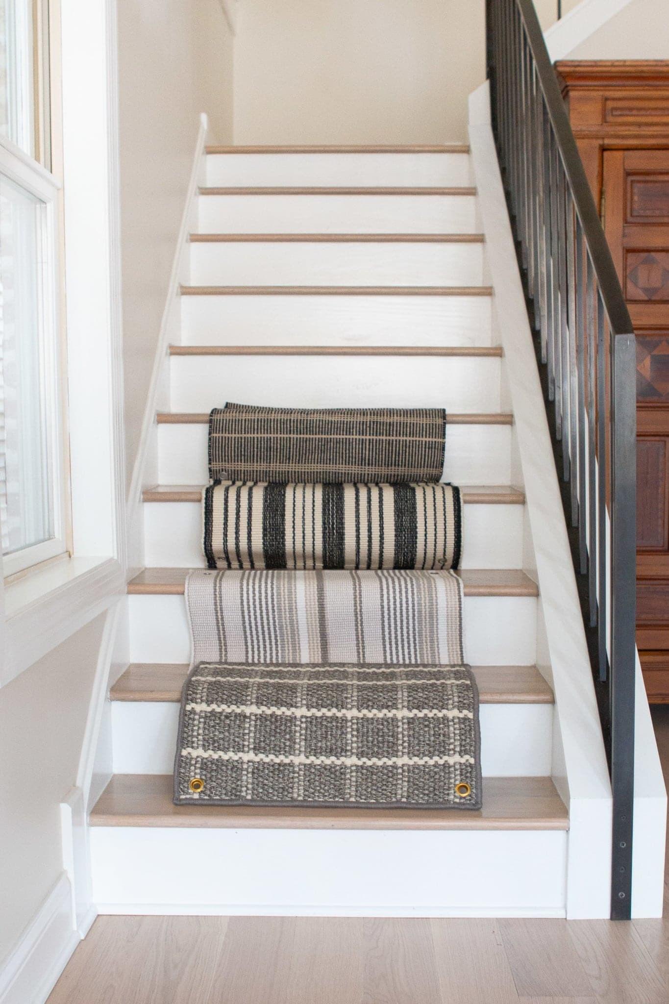 How To Install A Stair Runner On Hardwoods The Diy Playbook | Roll Runners For Stairs | Carpet Stair Treads | Kurdamir | Area Rugs | Flooring | Carpet Runner