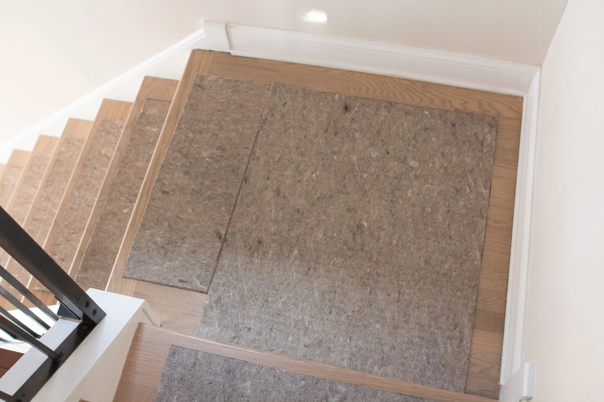 How To Install A Stair Runner On Hardwoods The Diy Playbook   Carpet Runners For Stairs And Landing   Carpet Hampton Style   Hallway   Stair Runner Matching Landing   Fitted   Farmhouse