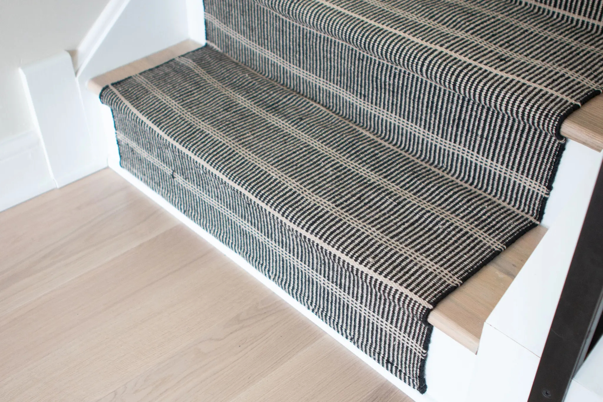 How To Install A Stair Runner On Hardwoods The Diy Playbook   Rug For Bottom Of Stairs   Stairs Floormat   Stair Runners   Flooring   Landing Mat   Rectangle