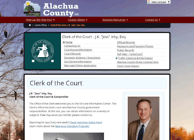 alachua county clerk courts