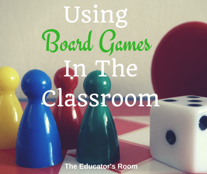 Using Board Games In The Classroom   The Educators Room using board games in the classroom