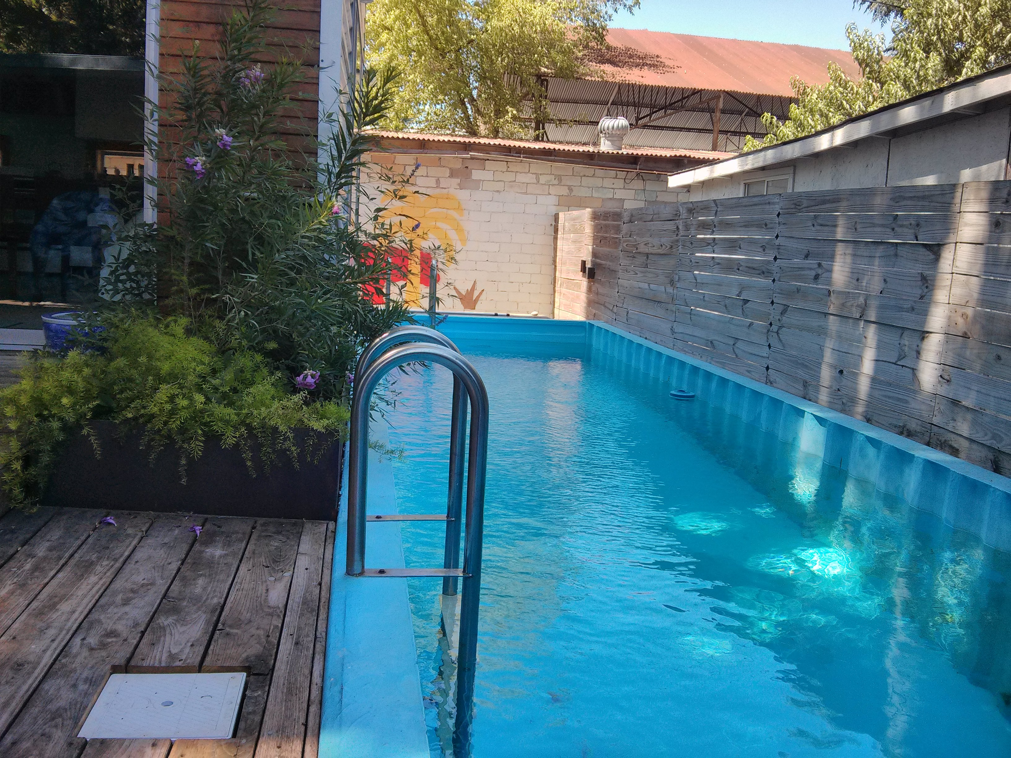 Best Kitchen Gallery: Shipping Container Pool Theepic of Shipping Container Pool on rachelxblog.com