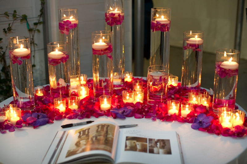 Red And Purple Wedding Ideas