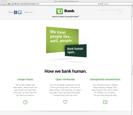 Td Personal Online Banking
