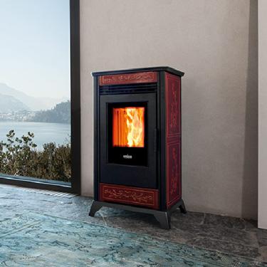 Ravelli Pellet Stoves Rv80 C The Fireplace Showcase