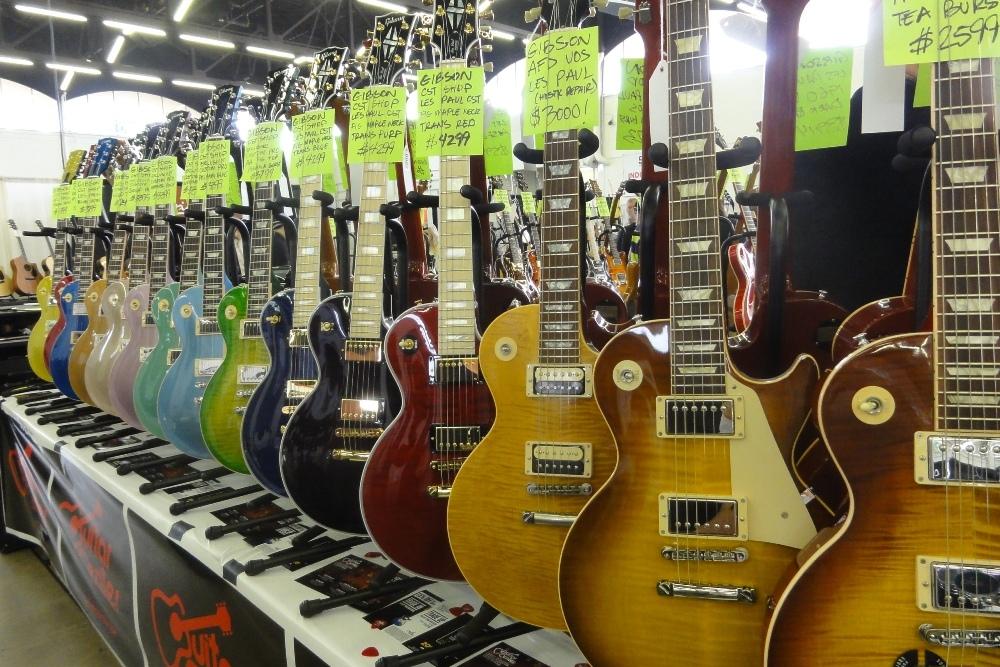 Dallas International Guitar Festival 2019 Guitar Show
