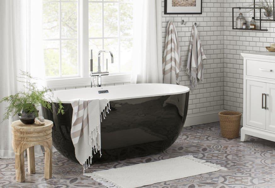 21 Modern Farmhouse Style Bathrooms for a Rustic Shabby ...