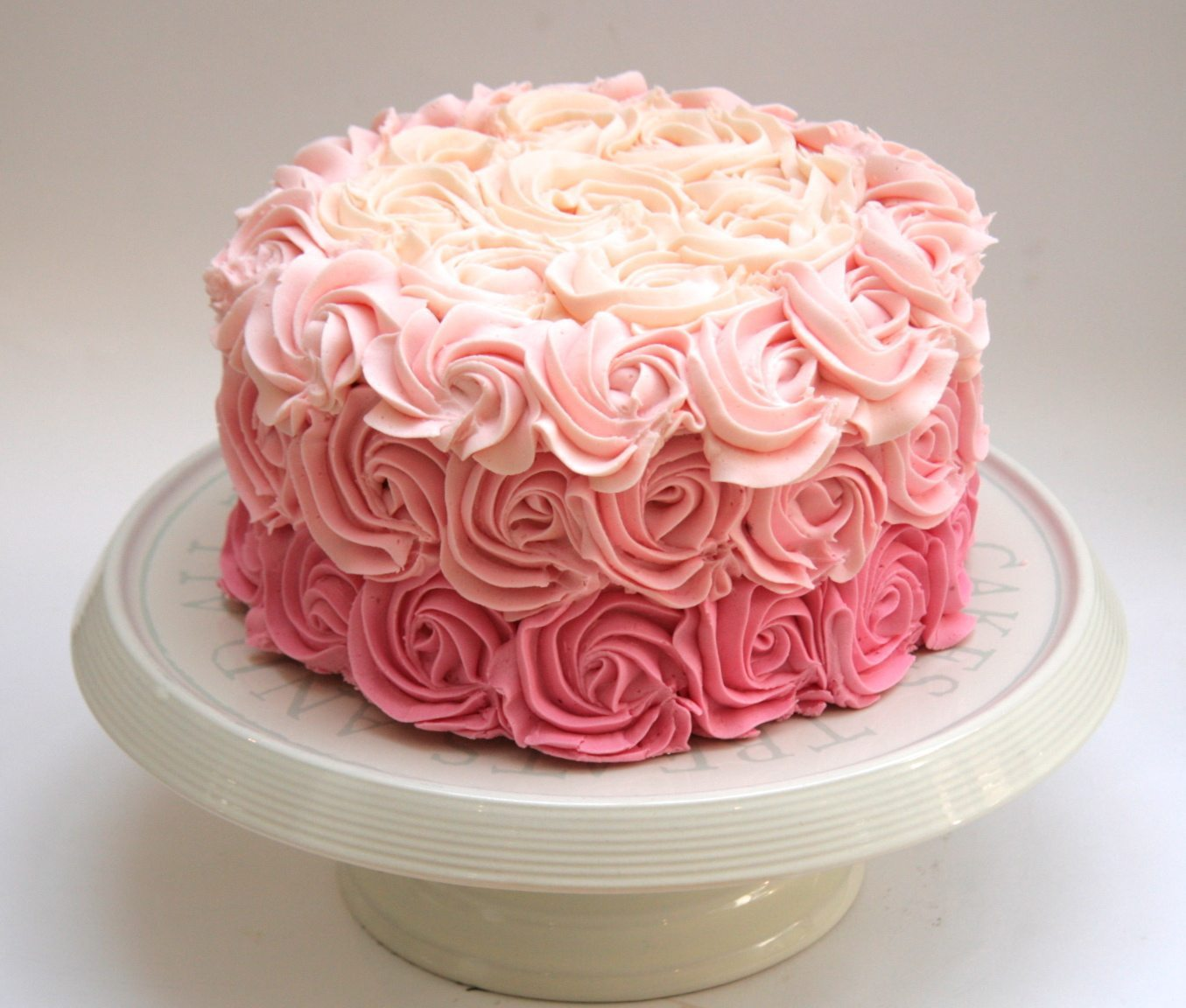 Buttercream Rose Cake Send Fresh Flowers Online Flower