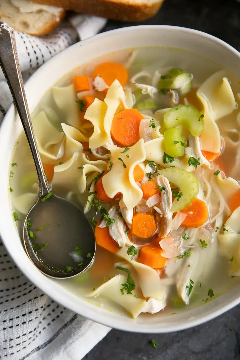Chicken Cooker Noodle Soup Slow