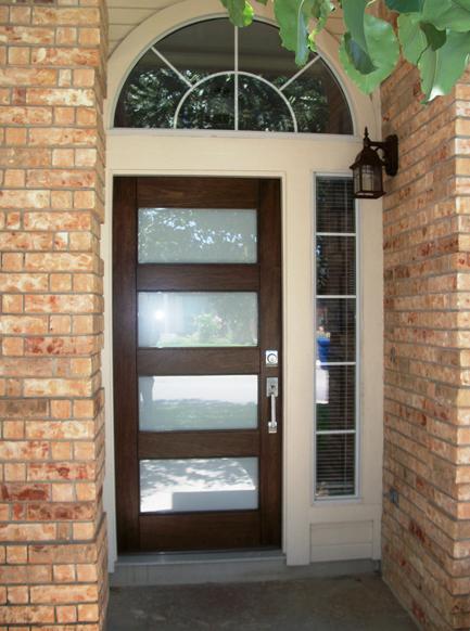 Modern Wood Door Gallery The Front Door Company