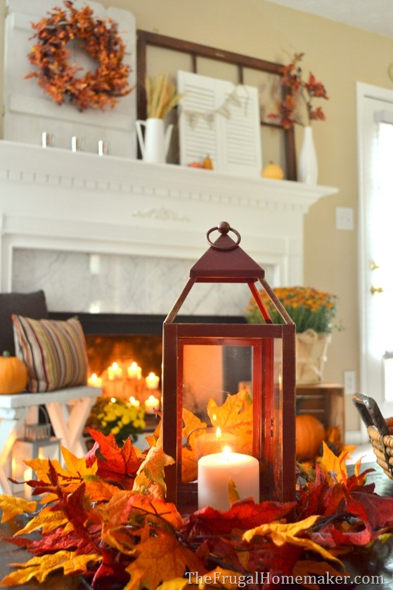 31 Days of Fall  20  Easy Fall Centerpiece Ideas DSC 0059
