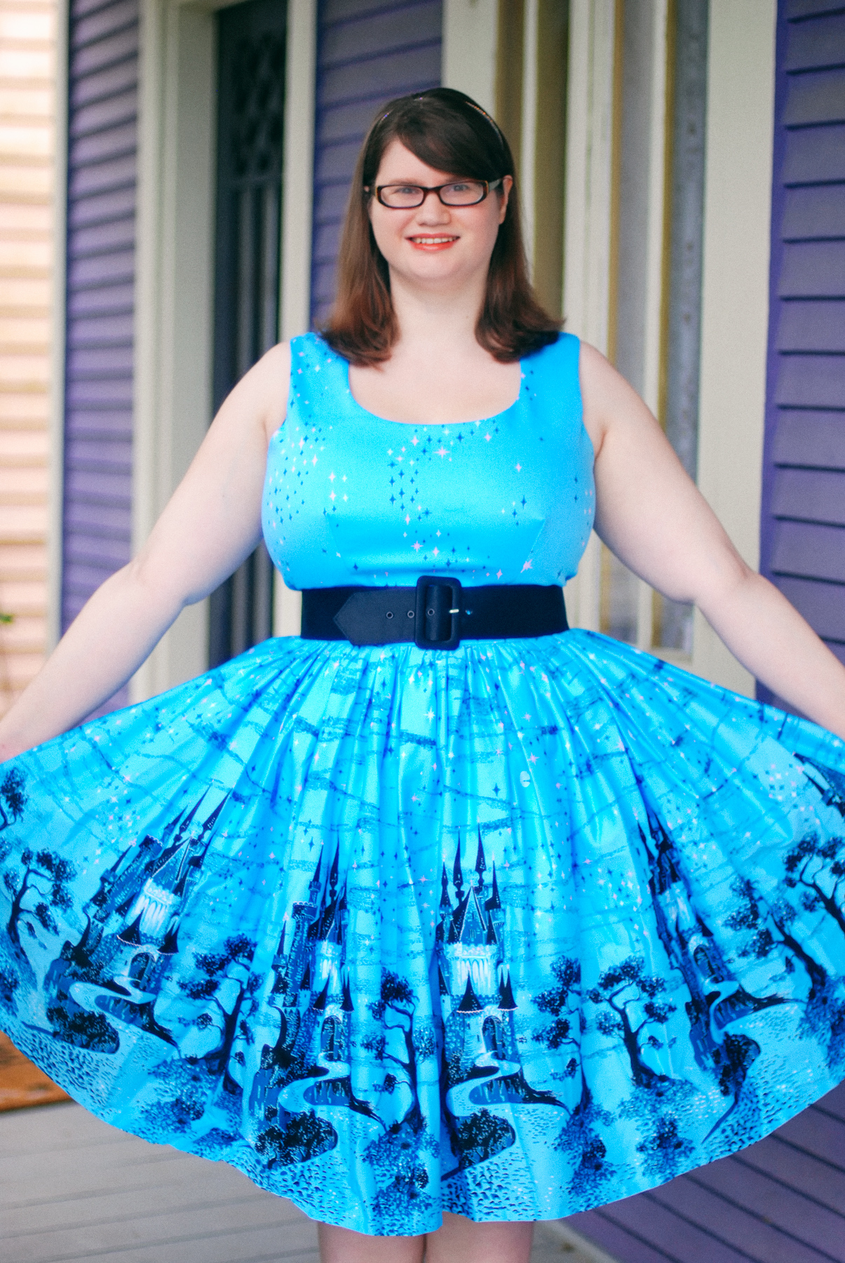 Pinup Princess: The Aurora Dress by Pinup Girl Clothing ...