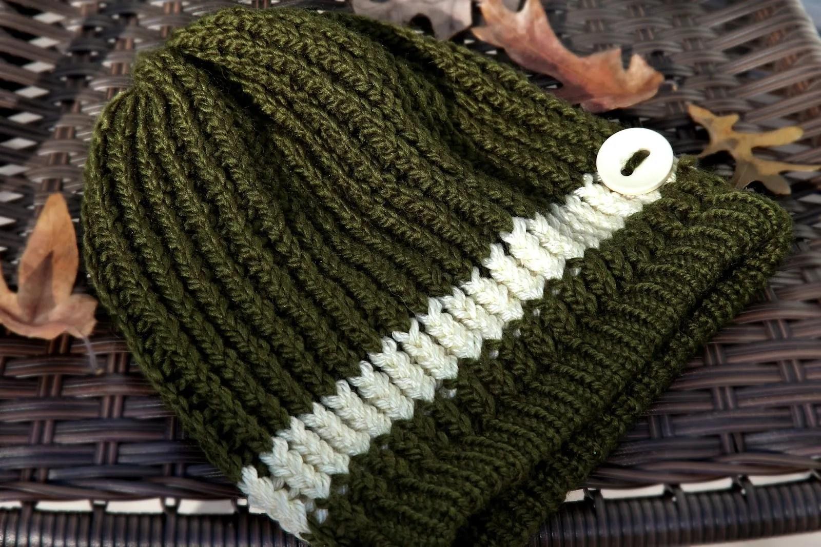 Spiral Slouchy Hat Crochet Pattern