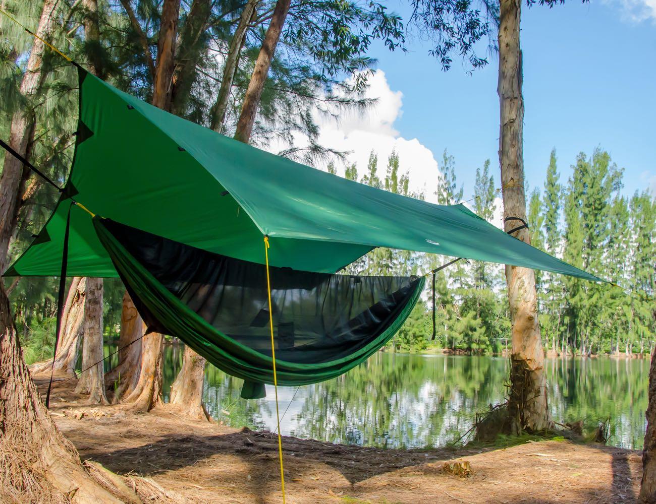 Enclosed Camping Hammocks