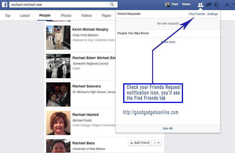 Friends People Name Profiles Facebook