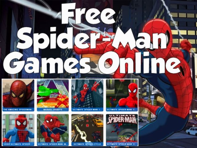 Spiderman Games for Kids   Play Free Spiderman Games Spiderman