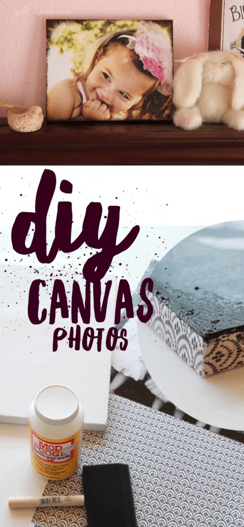 DIY Canvas Photos