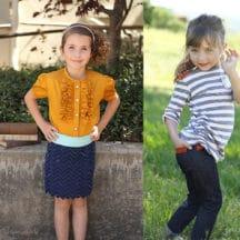 girls sewing designs