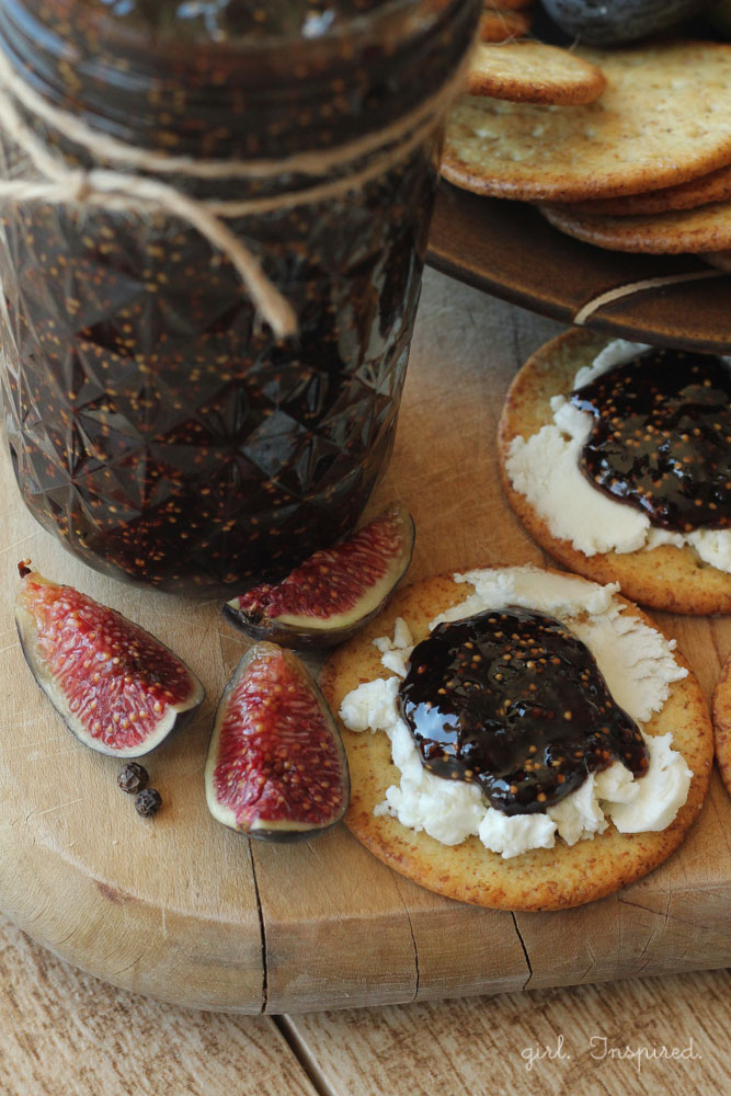 Balsamic Peppercorn Fig Jam