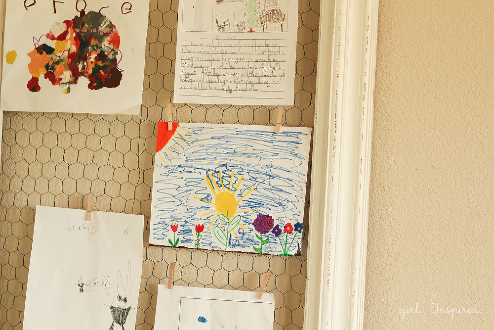 Make a Kids Art Display Board