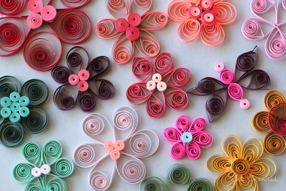 Use these pretty flowers to brighten someone's day.