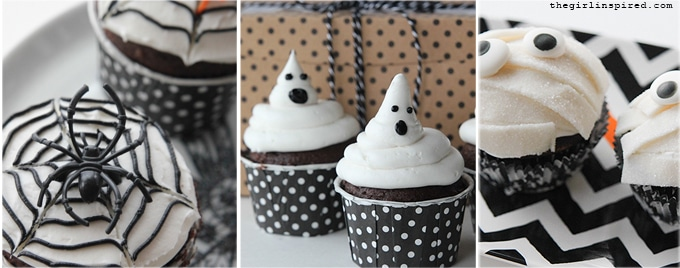5 Awesome DIY Halloween Cupcakes that anyone can make!