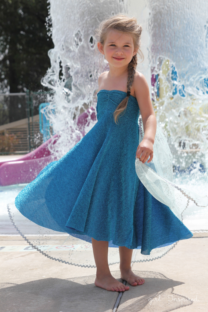 Elsa Dress Sewing Tutorial