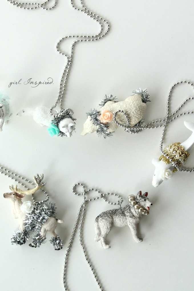 DIY Necklaces for Frozen Birthday Party