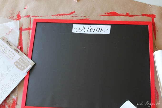 DIY Playroom Chalkboard
