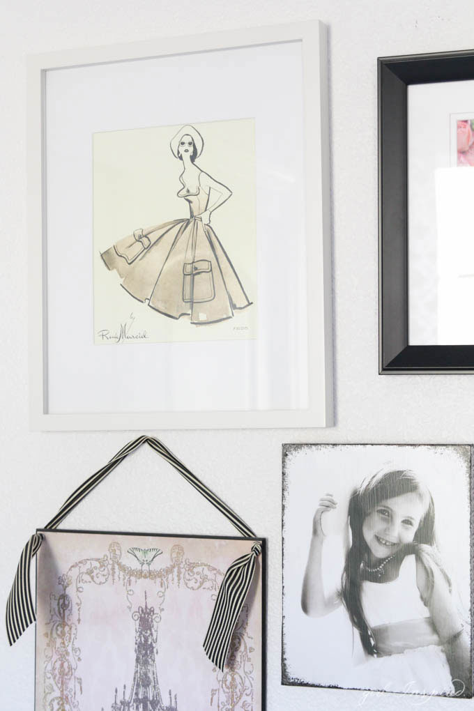Paris Inspired Bedroom - pretty girl's bedroom!