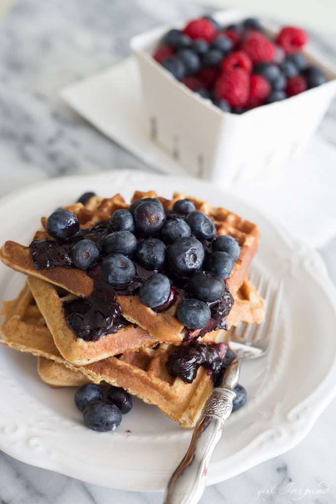 These grain-free waffles are so hearty and delicious, you'll never miss traditional waffles again.