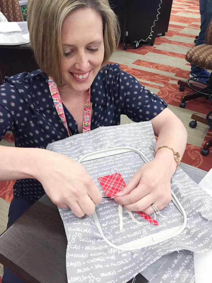 New sewing techniques, tips, and notions at Common Threads 2016 . #babylocksewing