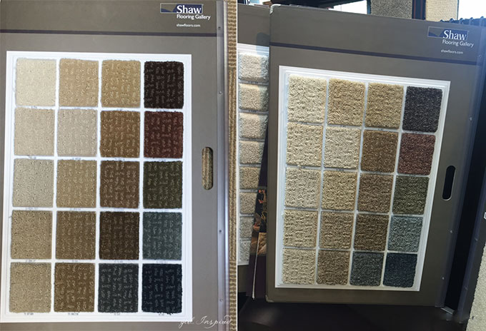 Flooring Choices for our Fixer Upper: Tips for choosing Carpet.