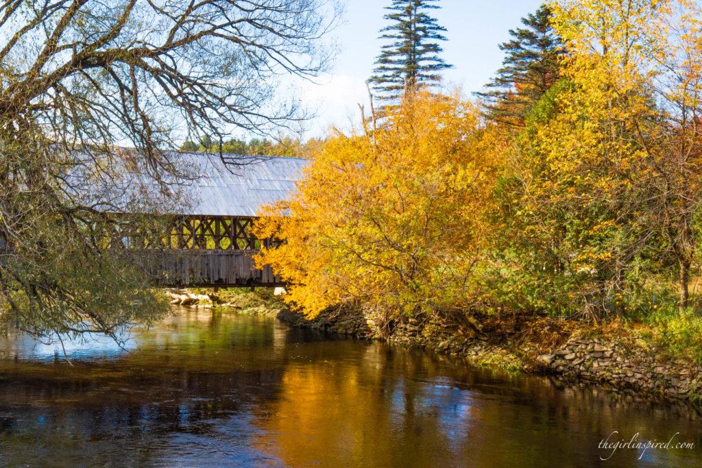 covered bridges of the Northeast Kingdom