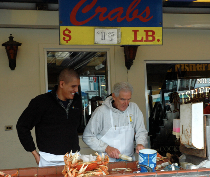 San Fran Fisherman Wharf Restaurants