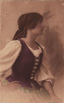 Free Vintage Clip Art Gypsy Or Mignon The Graphics Fairy