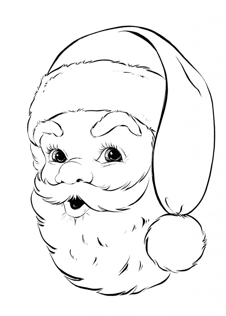 Letters Toddlers Santa Claus