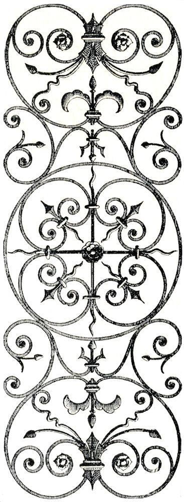 Wrought Iron Frame Clip Art