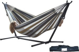 Vivere Double Hammock Review   The Hammock Expert People who love to relax and love to relax outside of their homes  go to  great lengths to find the perfect place that satisfies the idea of being in  peace