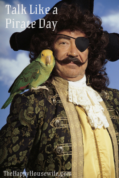 Talk Like a Pirate Day Activities - The Happy Housewife ...