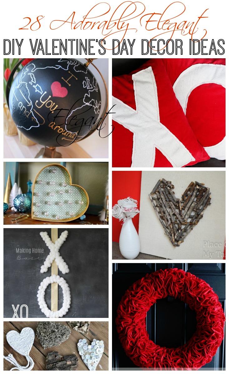 28 Adorably Elegant Diy Valentine S Day Decor Ideas The
