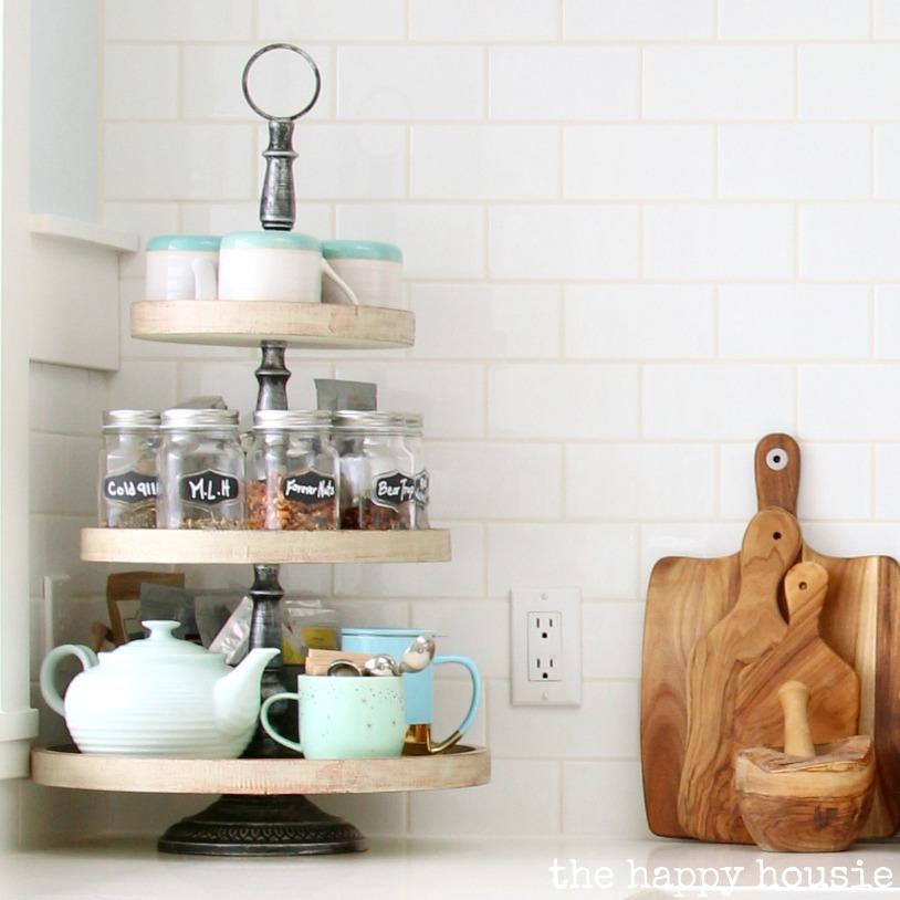 Galvanized Decor Kitchen