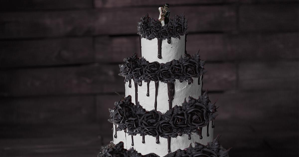Goth Bakery Refuses To Make Wedding Cake For Happy Couple