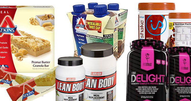 Top 5 Best Low Carb Replacement Meal Bars & Shakes