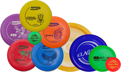 Driven Disc Golf Set – Innova Beginner Bundles