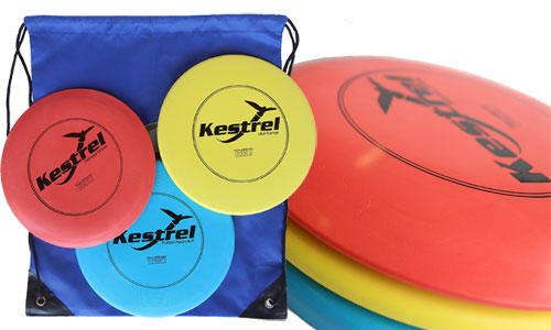 Kestrel Sports Disc Golf Pro Set Bundle