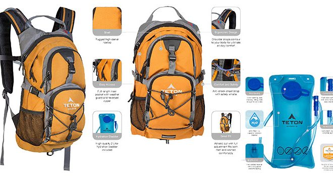 TETON Sports Oasis 1100 Hydration Backpack