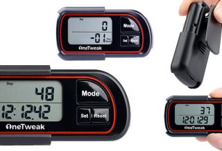 OneTweak New EZ-1 Pedometer for Walking Review